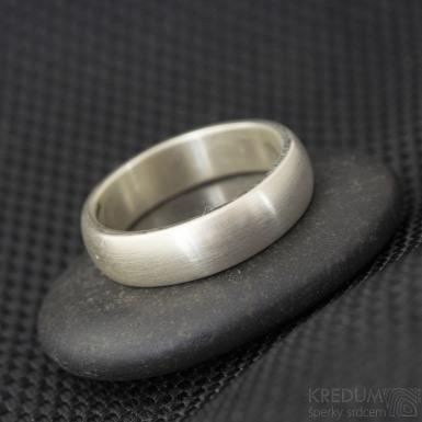 Povlakování prstenů - ZrN - zlato-bílá