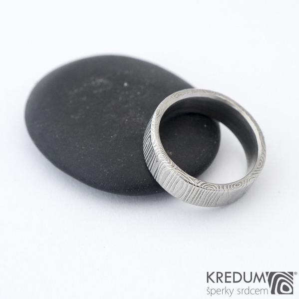 Prima 48 5,3 1,5 C - Damasteel snubní prsteny SK1300 (2)