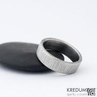 Prima 48 5,3 1,5 C - Damasteel snubní prsteny SK1300