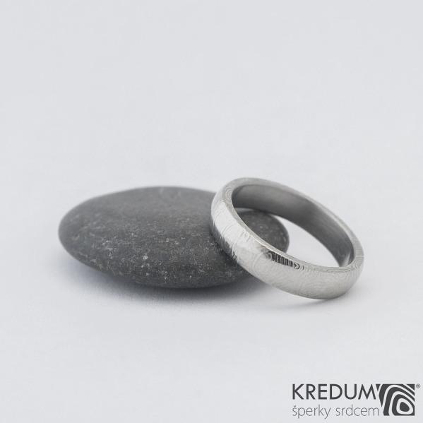 Prima - 52 4,3 1,8 B - Damasteel snubní prsteny sk1283