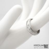 Prima a čirý diamant 2,3mm - vel 58, šířka 5,5 mm, struktura dřevo - lept 75% světlý, profil B, tloušťka 1,6 mm - sk1457 (4)