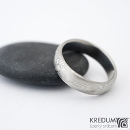 Prima a čirý diamant 2,3mm - vel 58, šířka 5,5 mm, struktura dřevo - lept 75% světlý, profil B, tloušťka 1,6 mm - sk1457 (2)