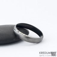 Prima DLC - 52 3,8 - do dlaně 3 A - Damasteel snubní prsteny SK1180