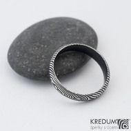 Prima DLC - 55 4 1,4 A - Damasteel snubní prsten sk1183 (2)