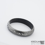 Prima DLC - 55 4 1,4 A - Damasteel snubní prsten sk1183 (3)