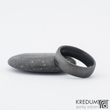 Prima DLC - 55 6 2 E - Samasteel snubní prsten sk1184