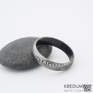 Prima DLC - 64,5 6 1,3 B - Damasteel snubní prsten sk1195 (3)