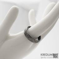Prima DLC - 64,5 6 1,3 B - Damasteel snubní prsten sk1195 (4)
