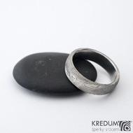 Prima překované dřevo 60 5,7 1,8 B 75% SV - Damasteel snubní prsteny sk1299 (3)
