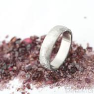 Prima překované dřevo 60 5,7 1,8 B 75% SV - Damasteel snubní prsteny sk1299 (7)