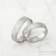 Snubní prsten damasteel Prima - voda
