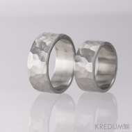 Prsten kovaná nerezová ocel - Draill - matný