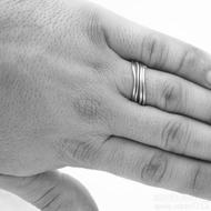 prsten Plain červené zlato (10)