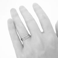 prsten Plain červené zlato (28)