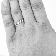 prsten Plain červené zlato (8)