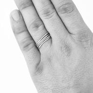 prsten Plain červené zlato (9)