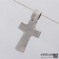 Křížek kovaný - nerezová ocel - produkt č. 2193
