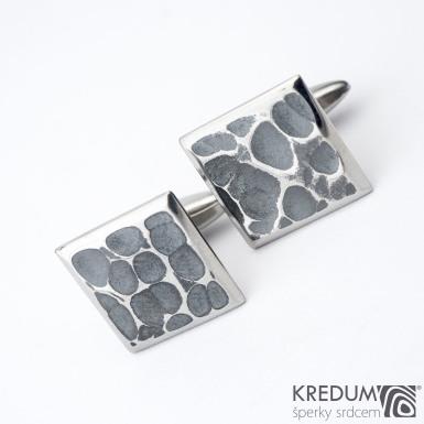Manžetové knoflíčky - Quatro dent black, produkt SK1258