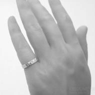 RAW snubní prsten gold white (1)
