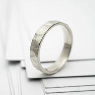 RAW snubní prsten gold white (3)