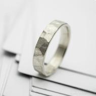 RAW snubní prsten gold white (5)