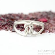 Reverse Silver - velikost 52 - Stříbrné snubní prsteny - K 1720 (2)