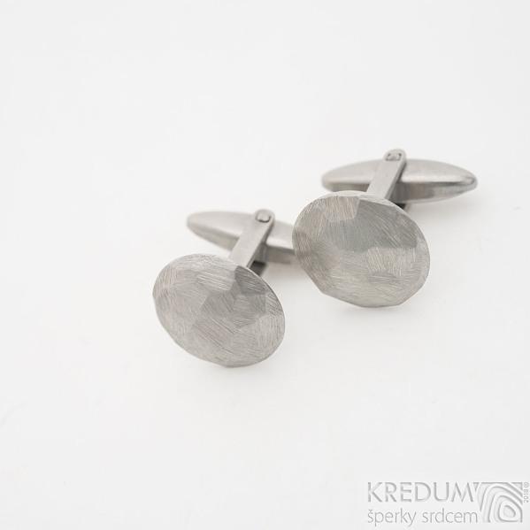 Round scrape - Manžetové knoflíčky, SK2490 (3)