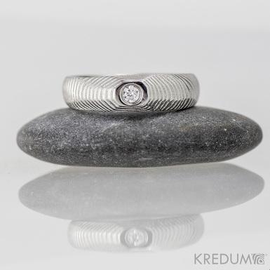 miniALANE a diamant 2,3 mm - nerezová ocel damasteel, S1370