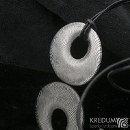 Kovaný damasteel přívěsek - Vizia, produkt č. 2142