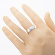 Silver Draill lesklý - Stříbrný snubní prsten velikost 58 šířka 7 mm - SK2882 (1)
