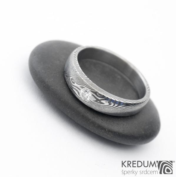 Siona a diamant 2,7 mm - 54, šířka hlavy 4,7 do dlaně 3,5 mm, tloušťka hlavy 2,7 mm, dlaň 1,7 mm, lept 100% TM, B - k 1090 (2)