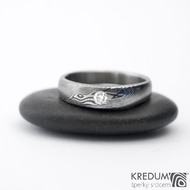 Siona a diamant 2,7 mm - 54, šířka hlavy 4,7 do dlaně 3,5 mm, tloušťka hlavy 2,7 mm, dlaň 1,7 mm, lept 100% TM, B - k 1090 (3)