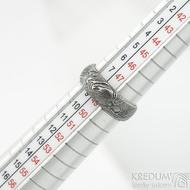 Siona- vel 49, šířka hlavy 6 mm, do dlaně 5,3 mm, tloušťka hlavy 2,2 mm do dlaně 1,5 mm, dřevo - lept 100% zatmavený sk1866 (4)