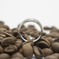 Siona voda SV - pro kámen - 49, šířka hlavy 5,5 mm, do dlaně 3 mm - Damasteel zásnubní prsten, SK2706 (6)