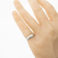 Siona voda SV - pro kámen - 49, šířka hlavy 5,5 mm, do dlaně 3 mm - Damasteel zásnubní prsten, SK2706