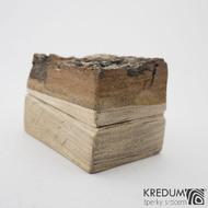 Natural wood - Originální dárková krabička na šperky, SK1262