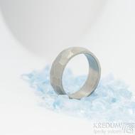 Skalák titan matný - velikost 54, šířka 6,4 mm, tloušťka 1,9 mm - Snubní prsteny z titanu - sk1970 (4)