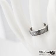 Snubní prsten damasteel - Prima line, 57,5 6 mm 75tm et 1627 (4)