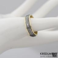 snubní prsten kasiopea zlato damasteel s2208 (2)