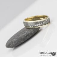 snubní prsten kasiopea zlato damasteel s2209 (3)