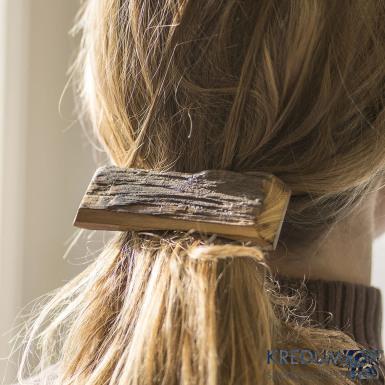 Altea - dřevěná spona do vlasů 8 cm, produkt č. 2224