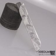 Pikant - Kovaná damasteel spona na kravatu