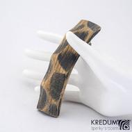 Buková - Ručně vyrobená dřevěná spona, SK1238