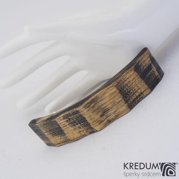 Buková - Ručně vyrobená dřevěná spona, SK1241