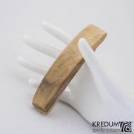 Jabloňová - Ručně vyrobená dřevěná spona, SK1239