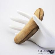 Jabloňová - Ručně vyrobená dřevěná spona, SK1240
