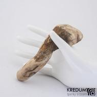 Smrková - Ručně vyrobená dřevěná spona, SK1237