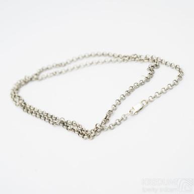 Stříbrný řetízek - Hrášek SK3279