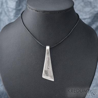 Triana - Kovaný přívěsek damasteel, SK1800 (5)
