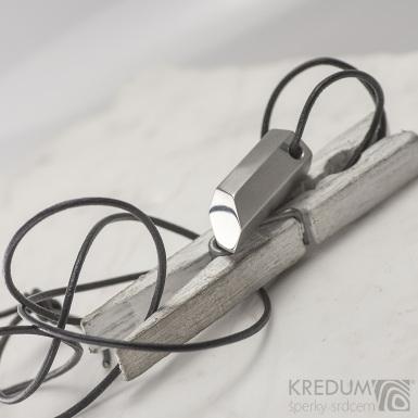 Turmalín - Přívěsek z nerezové oceli, SK2291
